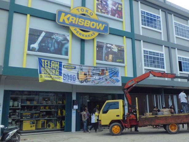 krisbow old retails store in Indonesia