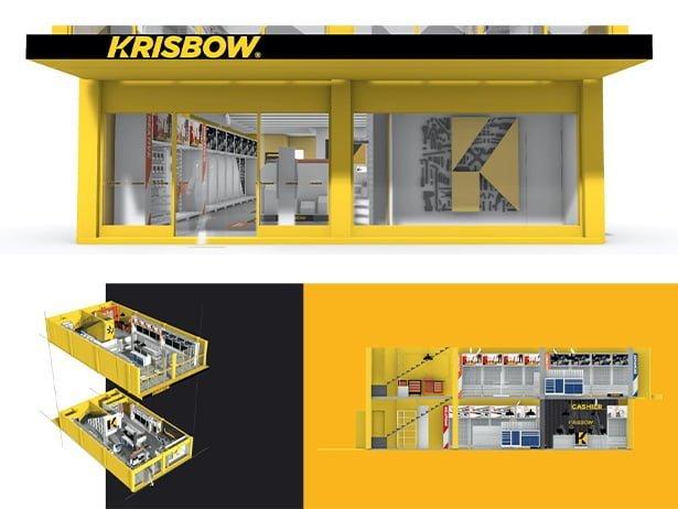 Krisbow New retail Design by Orange Branding