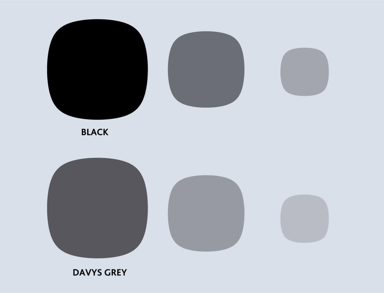 Zens logo background volor variations between black and gray