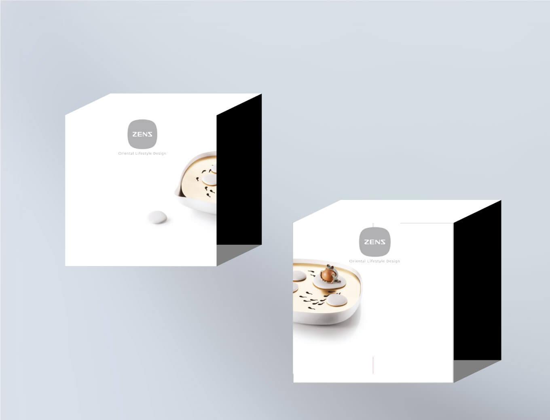 Tableware ceramics packaging design by orange branding
