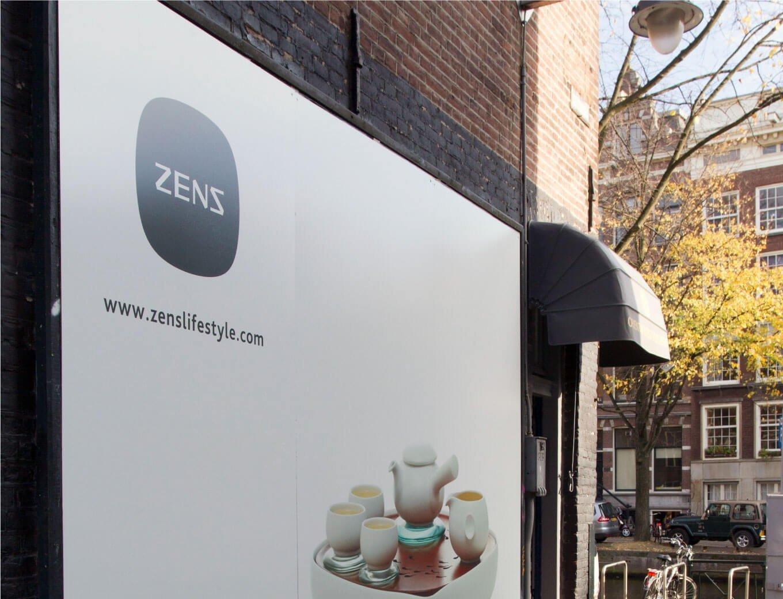 Zens ceramics opening ceremony in Amsterdam