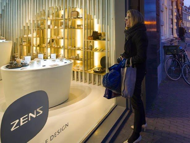 Zens Shop Window Display