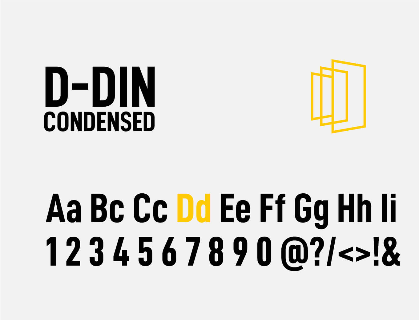 best window&door expo font selection by orange branding