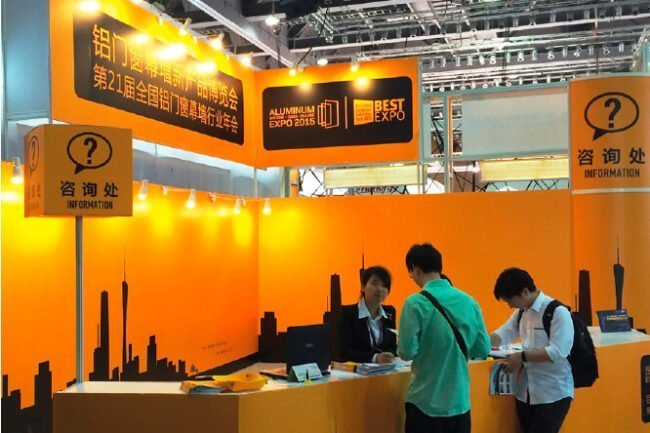 best expo Guangzhou exhibition counter