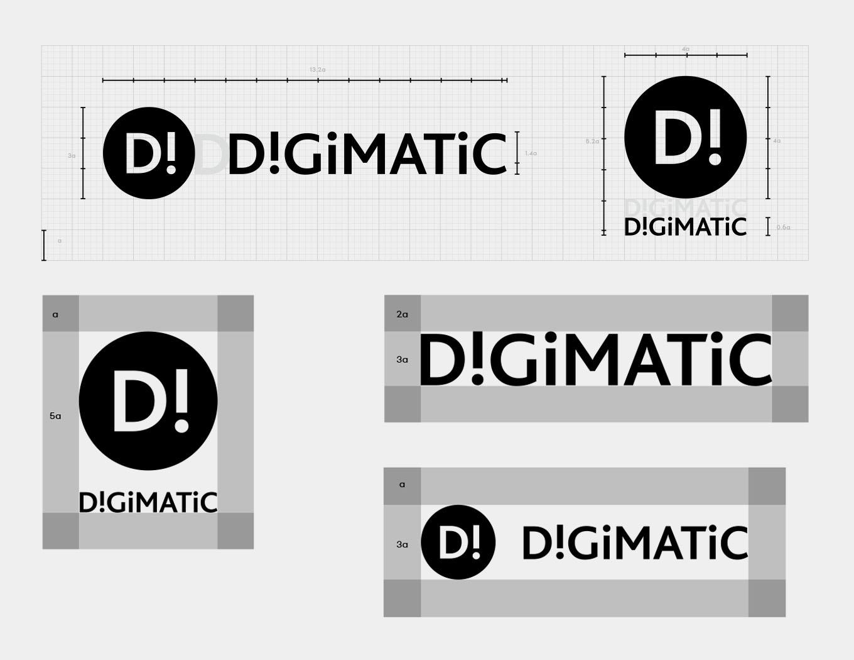 Orange branding Digimatic Logo dimensions