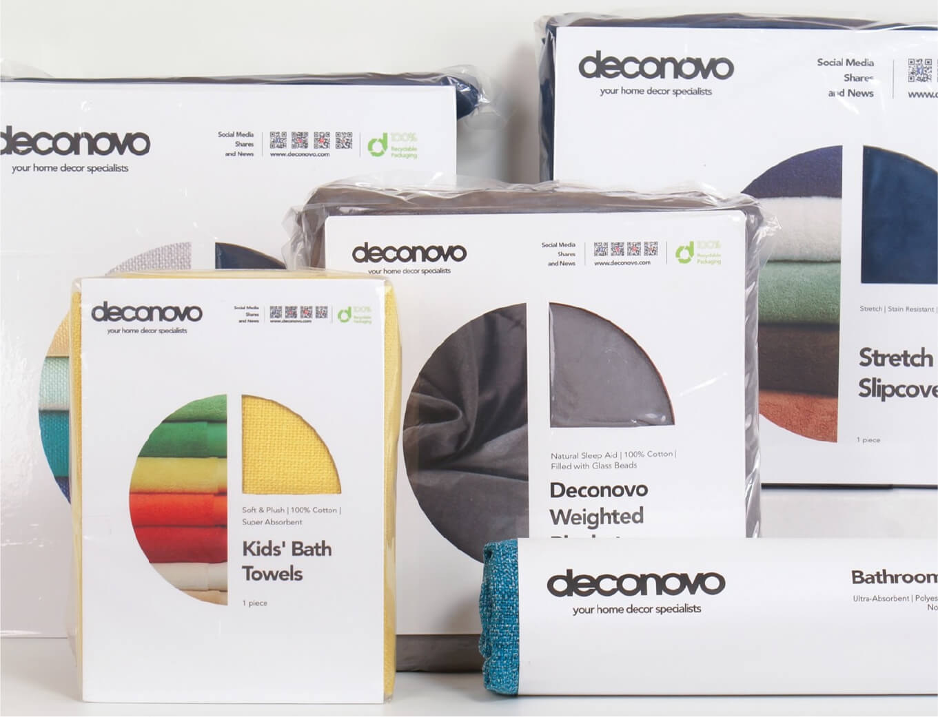deconovo home decoration Packaging Designed by orange branding