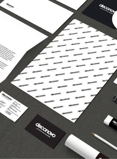 deconovo ecommerce brand design mockups by orange branding