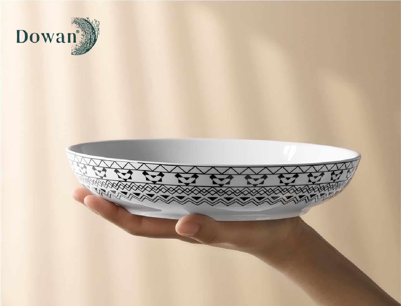 Dowan tableware designer Dinner plate