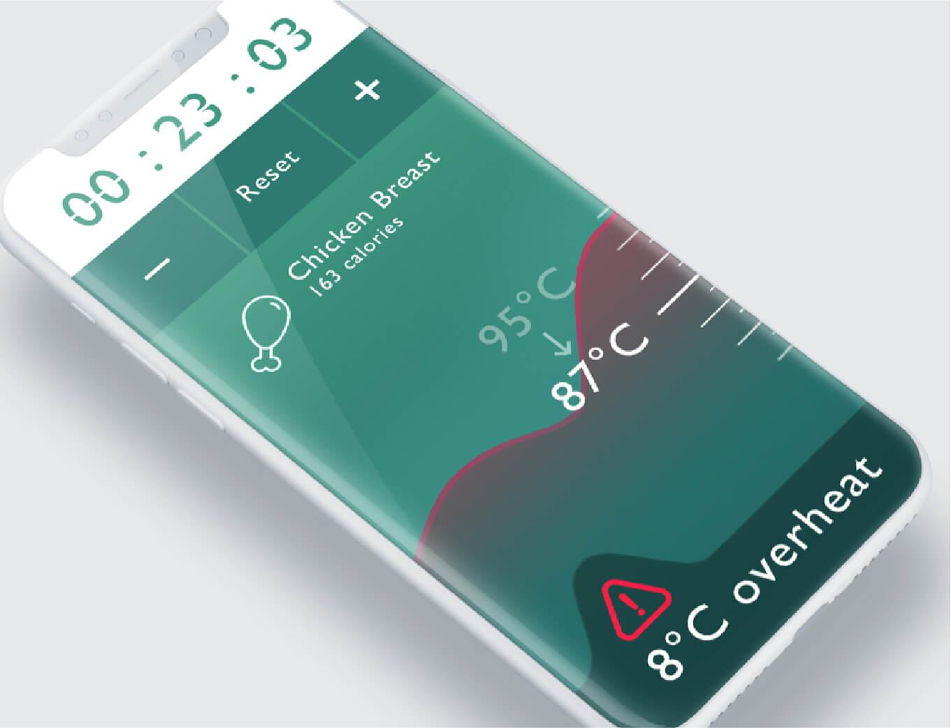 Hancook award winning smart pan mobile app