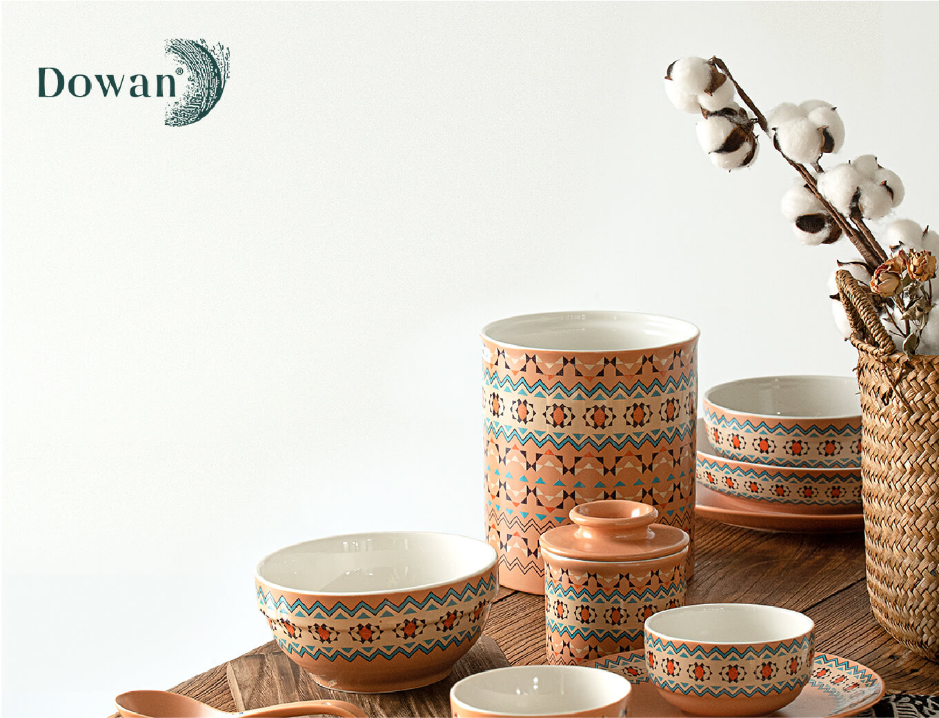 tableware set of ceramics