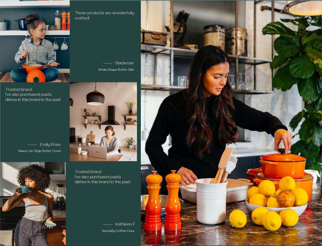 Dowan tableware design activation and branding
