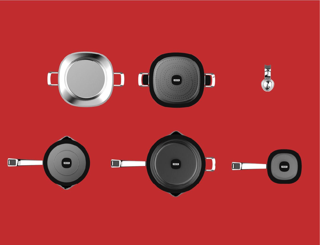 hancook odm industrial smart pan range series imagery