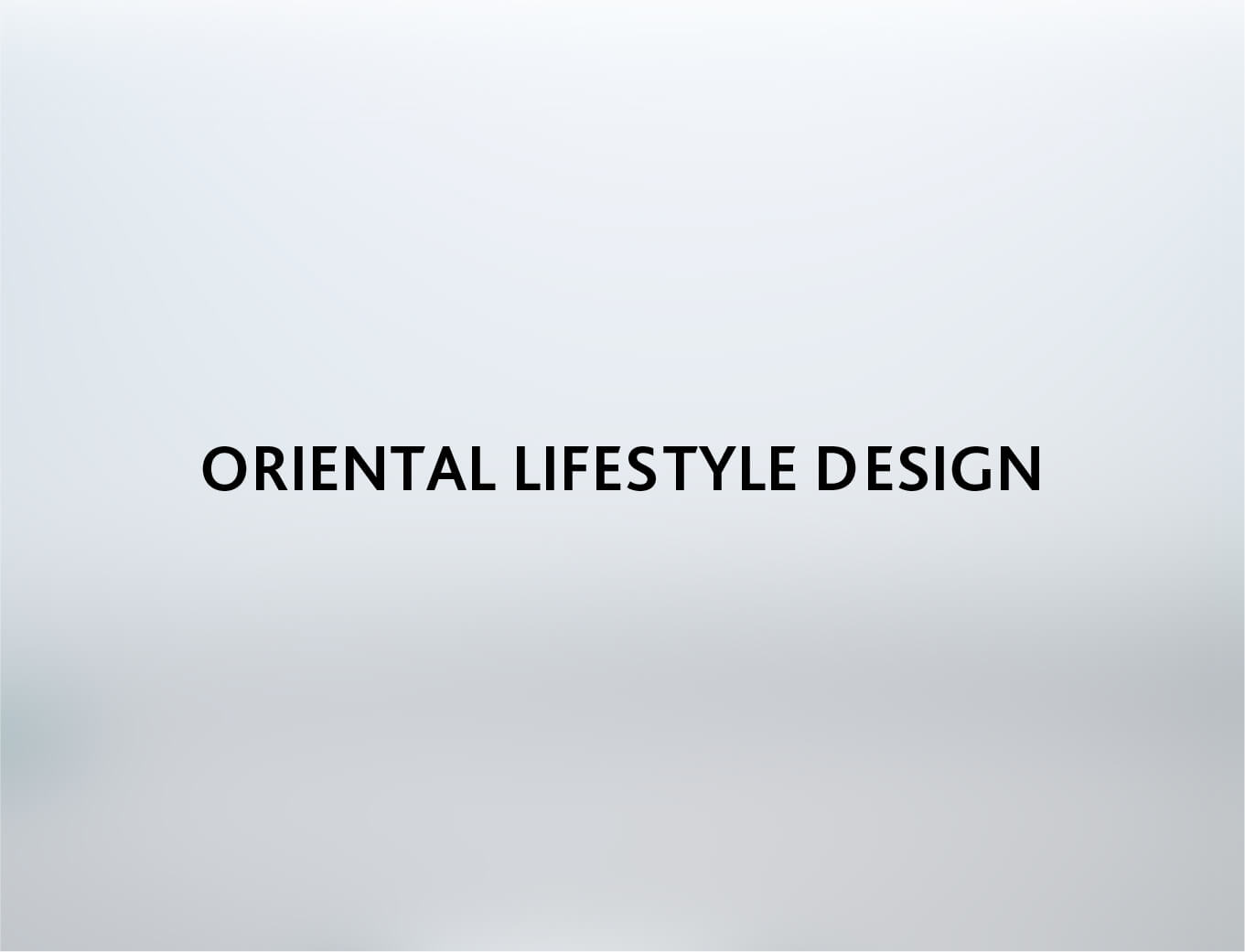 Zens Tableware Brand for oriented lifestyle