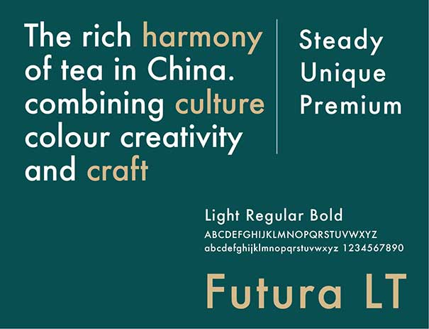 Orange branding Teatone Tea Retail Design color typography