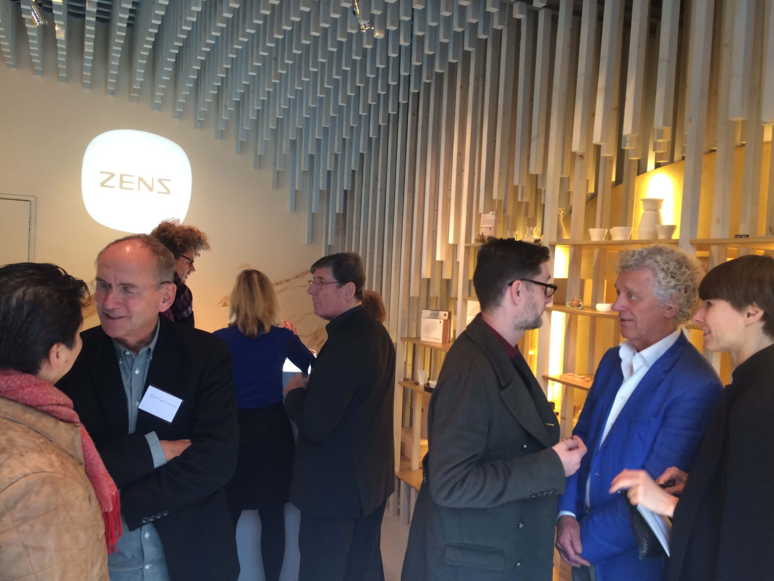 zens tea retail store opening ceremony in Amsterdam