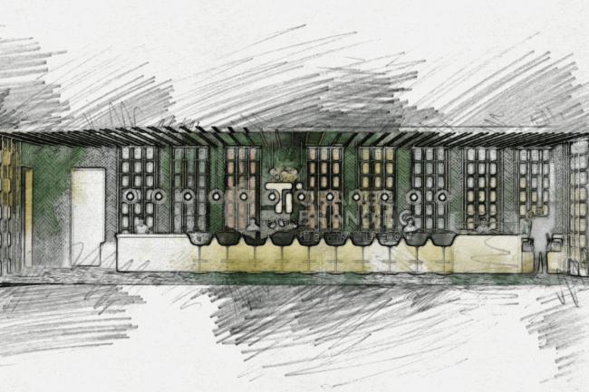 teatones retail interior design sketch ideas