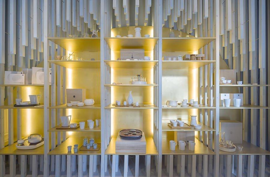 zens lifestyle crockery showcase retail opening Amsterdam