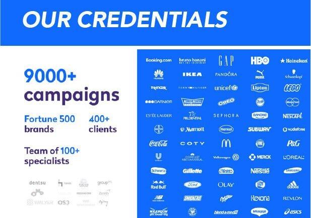 orange branding influencer marketing credentials