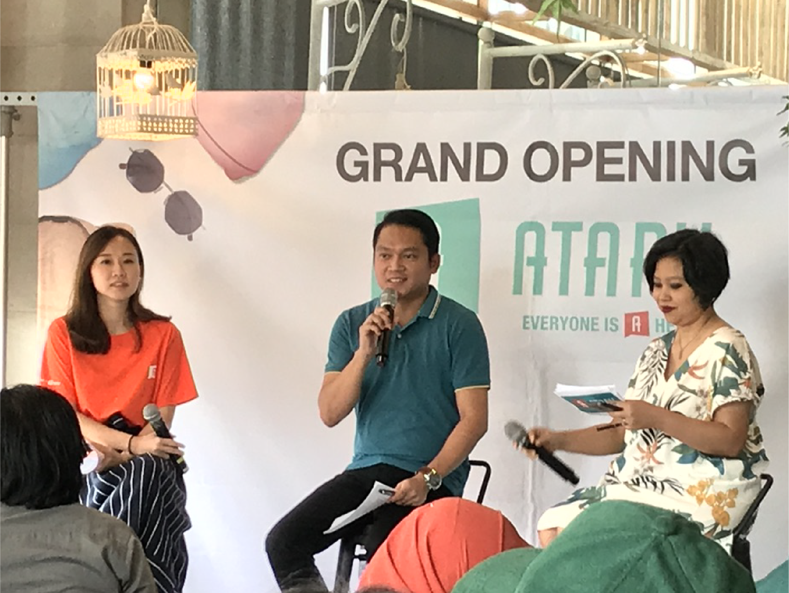 atart grand opening and brand activation conference