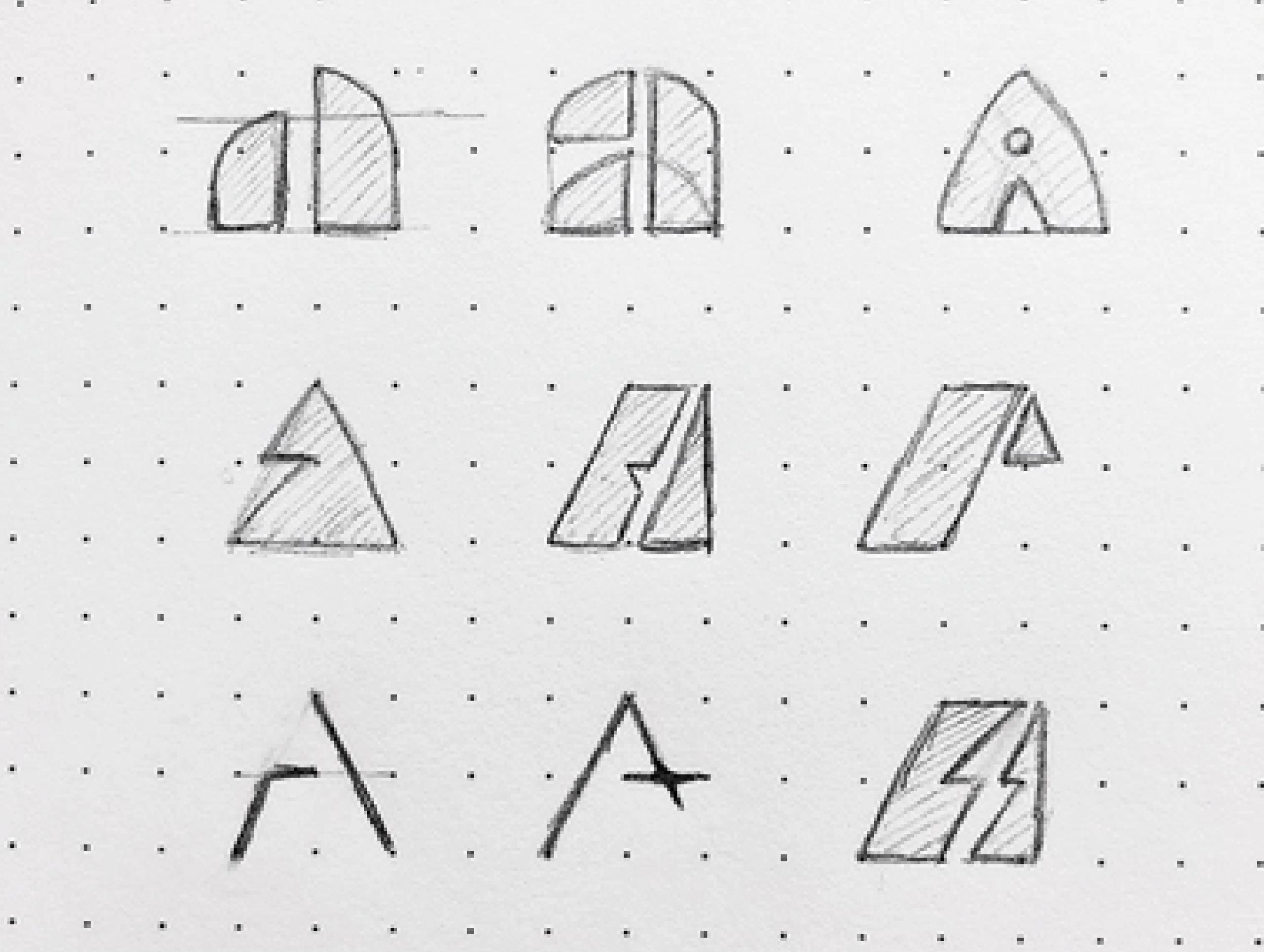atart brand logo design concepts